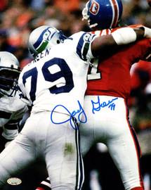 Jacob Green Autographed 8x10 Photo Seattle Seahawks MCS Holo Stock #82282