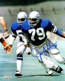 Jacob Green Autographed 8x10 Photo Seattle Seahawks MCS Holo Stock #82283