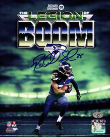 Richard Sherman Autographed 8x10 Photo Seattle Seahawks RS Holo Stock #85975