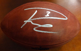 Russell Wilson Autographed Limited Edition Super Bowl Leather Football Seattle Seahawks RW Holo Stock #85992
