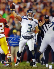 Russell Wilson Autographed 16x20 Photo Seattle Seahawks RW Holo Stock #88010