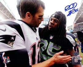 Richard Sherman Autographed 8x10 Photo Seattle Seahawks RS Holo Stock #89539