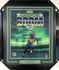 Richard Sherman Autographed Framed 16x20 Photo Seattle Seahawks RS Holo Stock #90705