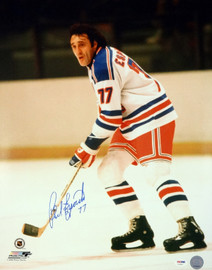 Phil Esposito Autographed 16x20 Photo New York Rangers PSA/DNA Stock #91034