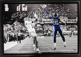 Richard Sherman Autographed Framed 20x30 Canvas Photo Seattle Seahawks The Tip #/125 RS Holo Stock #94468