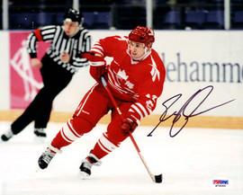 Greg Johnson Autographed 8x10 Photo Toronto Maple Leafs PSA/DNA #M76064