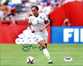 Sydney Leroux Autographed 8x10 Photo Team USA PSA/DNA Stock #98173