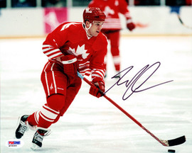 Greg Johnson Autographed 8x10 Photo Toronto Maple Leafs PSA/DNA #M76065