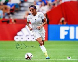 Sydney Leroux Autographed 16x20 Photo Team USA PSA/DNA Stock #98191