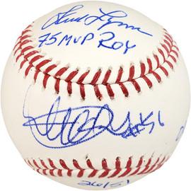 Ichiro Suzuki & Fred Lynn Autographed Official MLB Baseball Baseball #/51 IS Holo & PSA/DNA Stock #101264