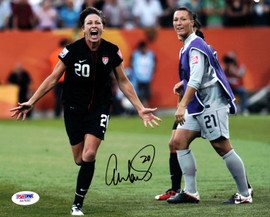 Abby Wambach Autographed 8x10 Photo Team USA PSA/DNA Stock #101378