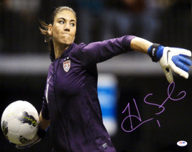 Hope Solo Autographed 16x20 Photo Team USA PSA/DNA Stock #104208