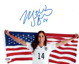 Morgan Brian Autographed 8x10 Photo Team USA PSA/DNA ITP Stock #104787
