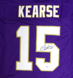 Washington Huskies Jermaine Kearse Autographed Purple Jersey MCS Holo Stock #106263