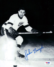 John Bucyk Autographed 8x10 Photo Boston Bruins PSA/DNA #P44285