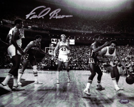 """""""Downtown"""" Fred Brown Autographed 8x10 Photo Seattle Sonics MCS Holo Stock #106816"""