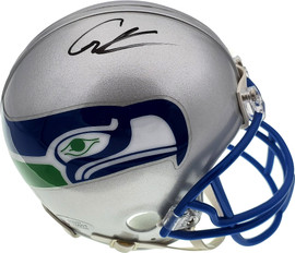 Cortez Kennedy Autographed Seattle Seahawks Throwback Mini Helmet Beckett BAS Stock #110682