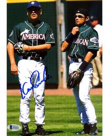 Kazuhiro Sasaki Autographed 8x10 Photo Seattle Mariners Beckett BAS Stock #115981