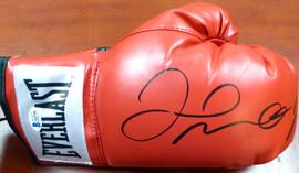 Floyd Mayweather Jr. Autographed Red Everlast Boxing Glove RH Beckett BAS Stock #121800