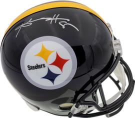 Antonio Brown Autographed Pittsburgh Steelers Full Size Helmet Beckett BAS Stock #121820