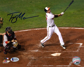Trey Mancini Autographed 8x10 Photo Baltimore Orioles Beckett BAS Stock #123787