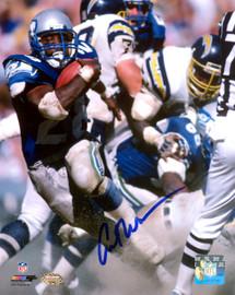Curt Warner Autographed 8x10 Photo Seattle Seahawks MCS Holo Stock #124704