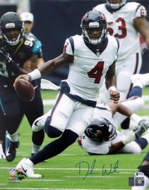 Deshaun Watson Autographed 16x20 Photo Houston Texans Beckett BAS Stock #125344