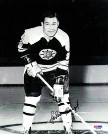 John Bucyk Autographed 8x10 Photo Boston Bruins PSA/DNA #Q48668