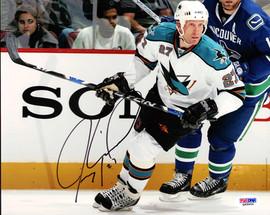 Jeremy Roenick Autographed 8x10 Photo San Jose Sharks PSA/DNA #Q48654