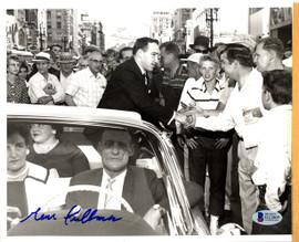Gene Fullmer Autographed 8x10 Photo Beckett BAS #D12809