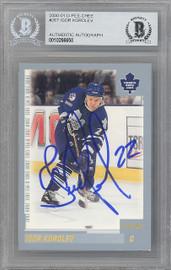 Igor Korolev Autographed 2000-01 O-Pee-Chee Card #267 Toronto Maple Leafs Beckett BAS #10266650