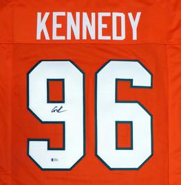 Miami Hurricanes Cortez Kennedy Autographed Orange Jersey Beckett BAS Stock #131530