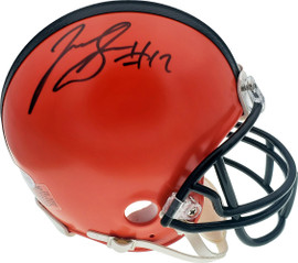 Josh Gordon Autographed Cleveland Browns Mini Helmet Beckett BAS Stock #131618