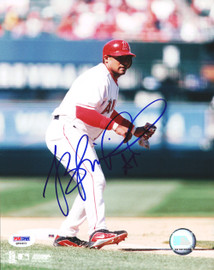 Bengie Molina Autographed 8x10 Photo Anaheim Angels PSA/DNA #Q94401