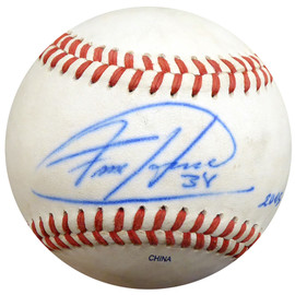 Felix Hernandez Autographed Official 2005 PCL Game Used Baseball Seattle Mariners PSA/DNA ITP #4A52832