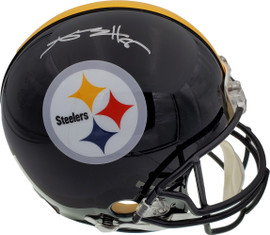 Antonio Brown Autographed Pittsburgh Steelers Full Size Authentic Proline Helmet Beckett BAS Stock #131955