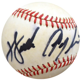 """Walter Payton Autographed Official NL Baseball Chicago Bears """"To Jeff"""" Beckett BAS #A77219"""
