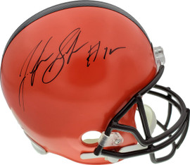 Josh Gordon Autographed Cleveland Browns Full Size Replica Helmet Beckett BAS Stock #134332