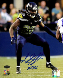 Shaquill Griffin Autographed 8x10 Photo Seattle Seahawks MCS Holo Stock #134406