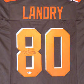 Cleveland Browns Jarvis Landry Autographed Brown Jersey Beckett BAS Stock #135166