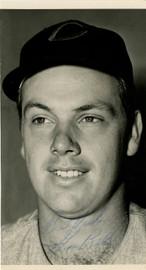 Gus Bell Autographed 3.5x7 Photo Cincinnati Reds Beckett BAS #F21118
