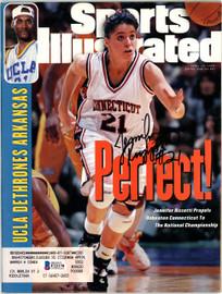 Jennifer Rizzotti Autographed Sports Illustrated Magazine UConn Huskies Beckett BAS #F22170
