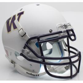 Unsigned Washington Huskies White Schutt Full Size Authentic Helmet Stock #137996