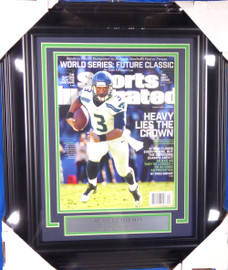 Russell Wilson Unsigned Framed Sports Illustrated SI Magazine Seattle Seahawks Stock #138441