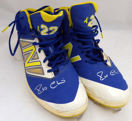 Robinson Cano Autographed Seattle Mariners Game Used New Balance Baseball Cleats With Signed Certificate PSA/DNA #7A96592