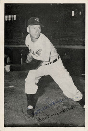 Hal Newhouser Autographed 6x8.5 Photo Picture Pack 1954 Cleveland Indians Beckett BAS #F98302