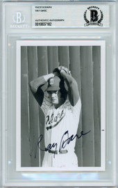 Ray Bare Autographed 3.5x5 Photo St. Louis Cardinals, Detroit Tigers Beckett BAS #10837182