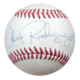 Alex Rodriguez Autographed Little League Baseball Seattle Mariners Signed in 1994 PSA/DNA #S64827