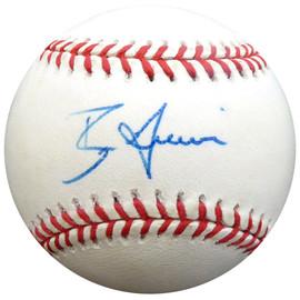 Ben Grieve Autographed Official AL Baseball Oakland A's Beckett BAS #E48192