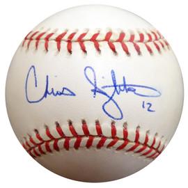 Chris Singleton Autographed Official AL Baseball Chicago White Sox Beckett BAS #E48505